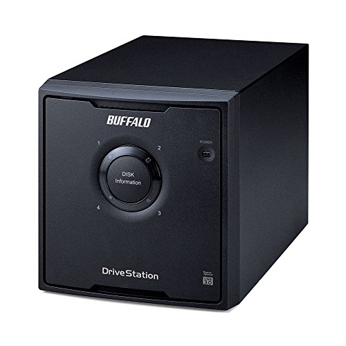 Buffalo DriveStation Quad USB 3.0 4-Drive 12 TB Desktop DAS (HD-QH12TU3R5)