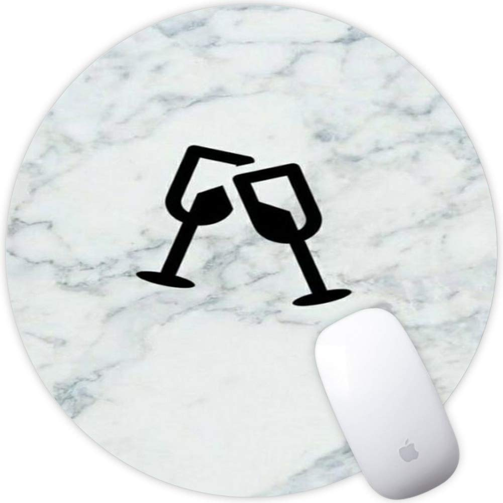 Marble Goblet Mouse Pad Personalized Design for Computer Non-Slip Rubber Mouse Pad Custom_Marble Goblet