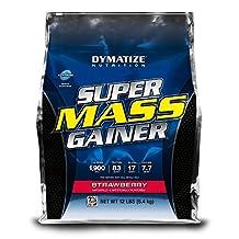 DYMATIZE - SUPER MASS GAINER STRAWBE 12LB