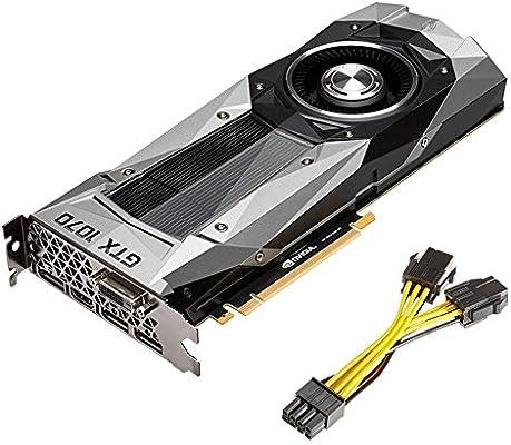 PNY GeForce GTX 1070 Founders Edition GeForce GTX 1070 8GB GDDR5 ...