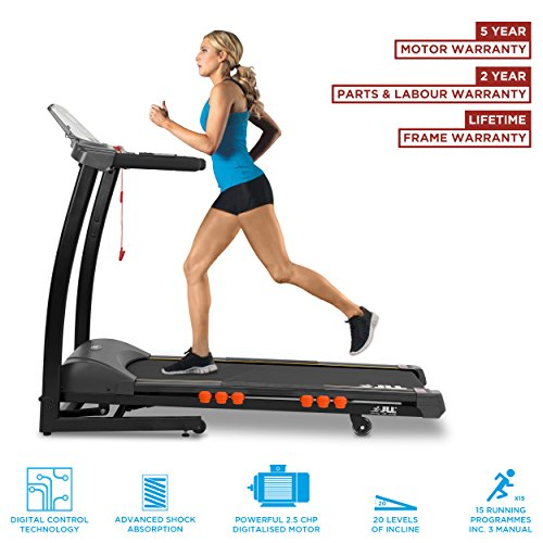 JLL S300 Digital Folding Treadmill, 2018 New Generation Digital 4.5HP...