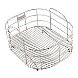Elkay LKWRB1113SS Wavy Wire Rinsing Basket, Stainless Steel