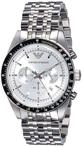 Emporio Armani Herren-Armbanduhr Chronograph Quarz Edelstahl AR6073