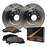 Max Brakes Front Premium Brake Kit [ OE Series Rotors + Ceramic Pads