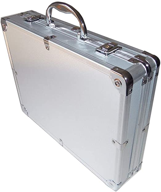 Caja herramientas Caja de herramientas resistente caja de herramienta de aleación de aluminio portátil Instrumento Caja de almacenamiento Equipo de seguridad caja de la caja de herramientas Maleta Imp: Amazon.es: Hogar
