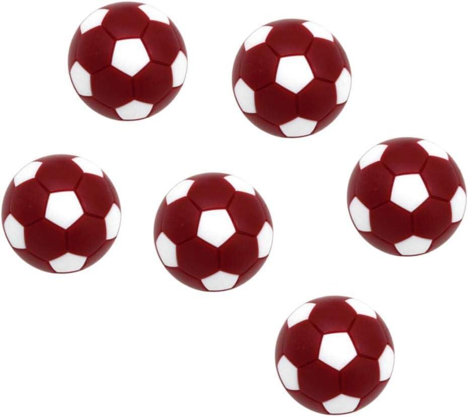 perfeclan 6X Mini Pelotas Fútbol 32mm de Plástico de Tabla ...
