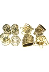 Wholesale Scarvves Accessories DIY Alloy Gold Bails Pendant Scarf Jewelry Sold 12pcs
