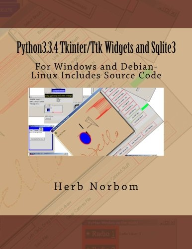Python3.3.4 Tkinter/Ttk Widgets and Sqlite3: For Windows and Debian-Linux Includes Source Code