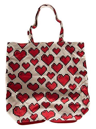 Avorio Pochette A Moschino Borsa Love Donna Jc4106pp15ls Richiudibile Spalla O 150a Nylon Mano Shopping Articolo wE6XRRq