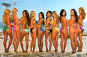 First Art Source - Póster de Maxim, diseño de chicas en bikini