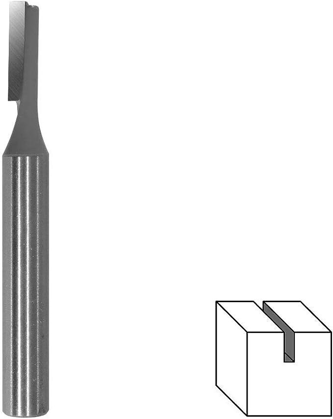 "Nutfräser D 1//4/"" x SL 3//4/"" x S 1//4/"" HM 6,35mm 6,35 x 19,05mm Holzfräser"