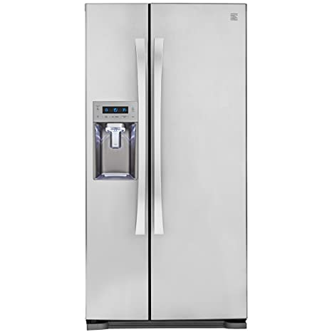 Kenmore Elite 51823 21 9 cu  ft  Side-by-Side Refrigerator in Stainless  Steel, includes delivery and hookup