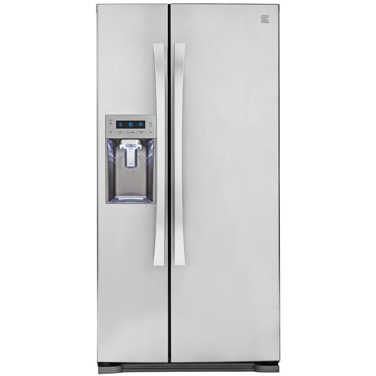 Kenmore Elite 51823 21.9 cu. ft. Side-by-Side Refrigerator in Stainless Steel, includes delivery and hookup (Available in select cities only)