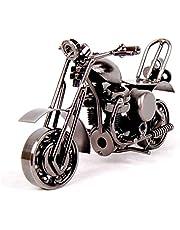 MYTANGCreative Office Desktop Accessories Harley Davidson Metal Motorcycle Model Artwork (m36-balck)