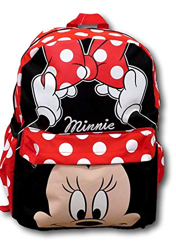 Disney Minnie Mouse Polka Dot 12 inch All Over Toddler Size Backpack