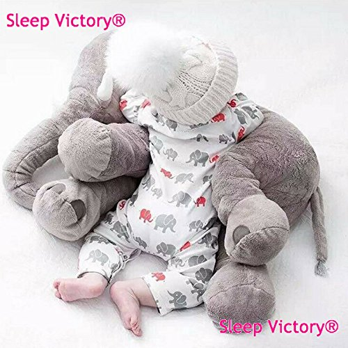 Baby | Elephant plush pillow, Large