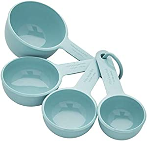 KitchenAid Universal Measuring Cups, Set Of 4, Aqua Sky