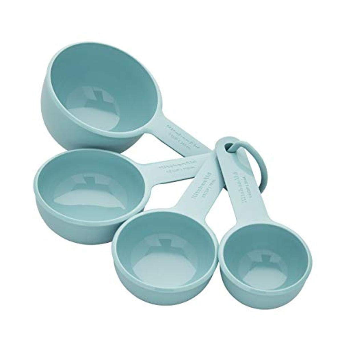 KitchenAid Measuring Cups, Set Of 4, Aqua Sky