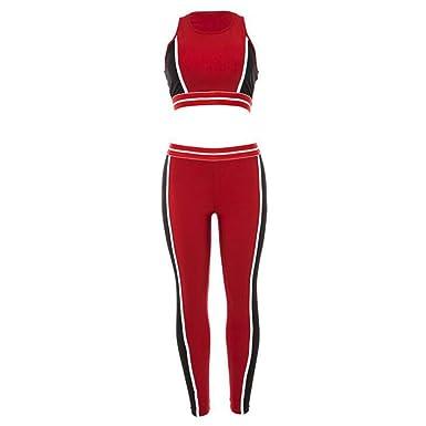 BenCreative - Chándal - para Mujer Rojo M: Amazon.es: Ropa y ...