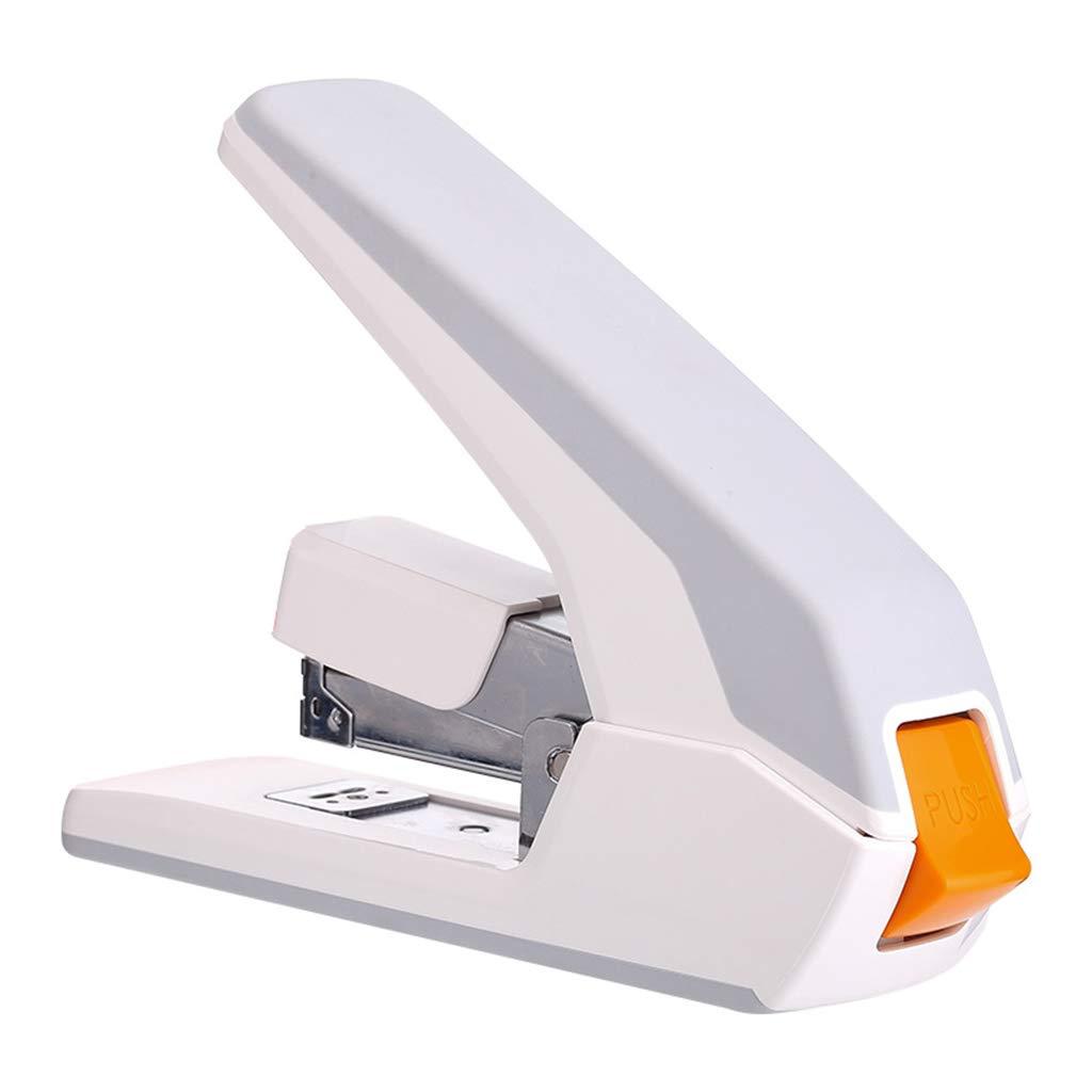 La engrapadora portátil de tamaño Medio hogar para el hogar Medio de la Oficina se Puede configurar en 60 páginas a la Vez. (Color : Negro) 6e7029
