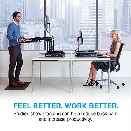 VARIDESK - Height-Adjustable Standing Desk - Pro Plus 36 - Black