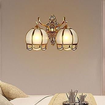 Sdkky Europaischen Kupfer Lampe Amerikanische Schlafzimmer Bett
