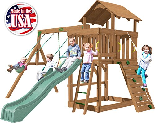 (Creative Playthings (Playtime Series) Eastport Swing Set Made in The USA)