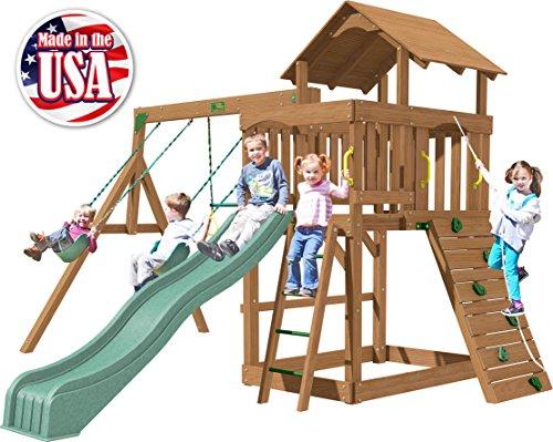 Creative Playthings (Playtime Series) Eastport Swing Set Made in the ()