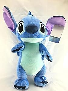 "Disney Lilo And Stitch Jumbo 17"" Plush/Crossbody Bag- Blue"