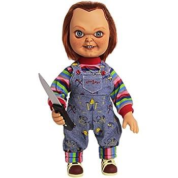 Amazoncom Mezco Toyz 15 Mega Good Guy Chucky Action Figure With