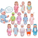 9 Sets for 14-15 Inch Alive America Doll Clothing Dress Baby Doll Clothes Costumes Gown Handmade Outfits Birthday Xmas Gift-wrap