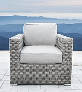 Verona 10 Piece Club Seating Group with Cushion (Club Chair, Verona Grey)