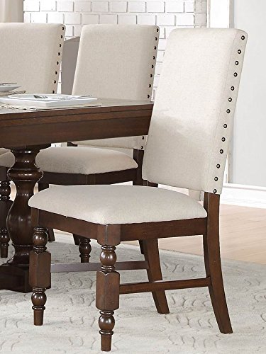 Cheap County Cottage Dark Brown Dining Furniture (2 Chairs)