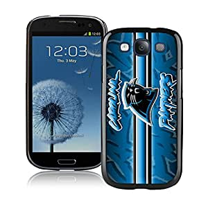 DIY Custom Phone Case For Samsung S3 Carolina Panthers 19 Black Phone Case For Samsung Galaxy S3 Case