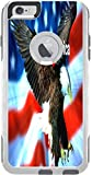 I Love America Quote USA Flag with Eagle Design Print Image Otterbox Commuter iPhone 6 Plus Vinyl Decal Sticker Skin