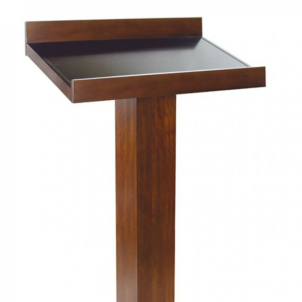 Catalia Display Stand With Dark Oak & Espresso Finish by Furniture Of America
