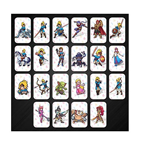 Full Set NFC PVC Tag Cards Breath of The Wild 20 Hearts Wolf Link Quick Arrive by Optim-Price (Image #10)