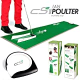 """""""NEW 2016"""" IAN POULTER CS2 PRACTICE PUTTING MAT TRAINING AID - HOLE MORE PUTTS"""