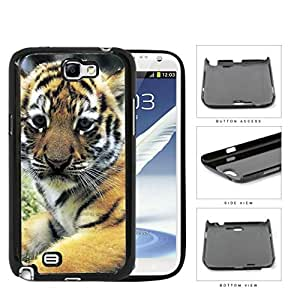 Cute Striped Baby Tiger Animal Close Up Hard Snap on Phone Case Cover Samsung Galaxy Note 2 N7100