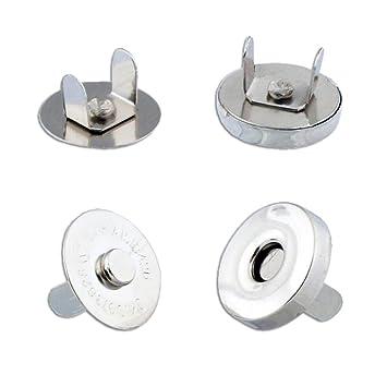 Press studs 18mm magnetic clasp snap popper fastener repair ...