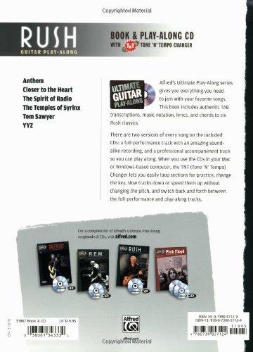 Amazon.com: Ultimate Guitar Play-Along Rush: Authentic Guitar TAB ...