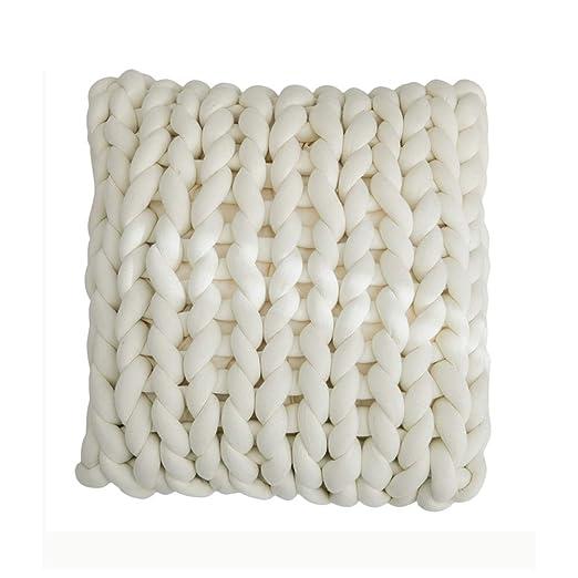 Almohada hecha punto brazo fornido del sofá, cojines hechos ...