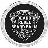Beard Balm for Men, Beard Rebel by Liberty Premium Grooming Co. ※ Best Beard Butter For Men and Wax Softener Leave-In Conditioner for Men - Lotion, Groom, Soften, Shape & Style Your Beard