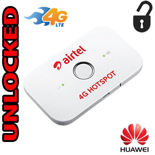 Huawei E5573Cs-609 150 Mbps 4G LTE Mobile WiFi Hotspot (4G LTE in USA AT&T and T-Mobile, Europe, Asia, Middle East & Africa)