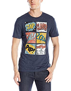 Men's Zap Clang Graphic Short Sleeve T-Shirt