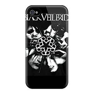 New JxH2775JEZj Black Veil Brides Tpu Cover Case For Iphone 4/4s