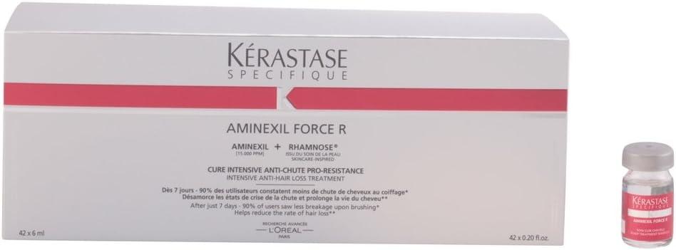 Kerastase Specifique Aminexil Force R Traitement Anti-Chute 42 X 6 ...