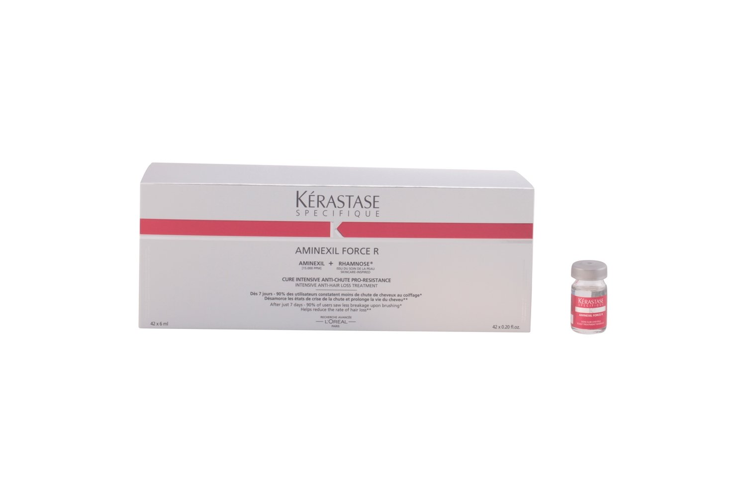 KERASTASE SPECIFIQUE aminexil force R traitement anti-chute 42 x 6 ml: Amazon.es: Belleza