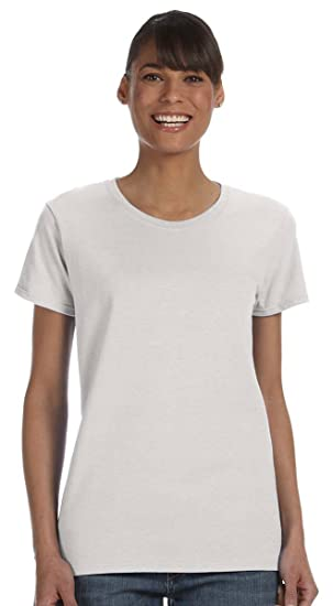 dd99fe5f Image Unavailable. Image not available for. Color: Gildan G500L Women's  Missy Fit T-Shirt ...