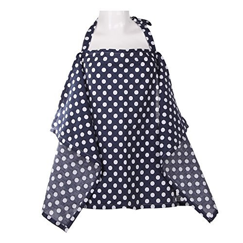 A Diamondo Cotton Baby Mum Nursing Poncho Cover Up